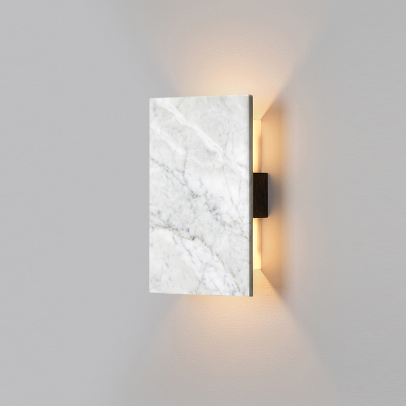 Nordic Modern Led Wall Lamps Art Moon Marble Shades Gold Metal Wall Lamps Sconce Living Room Bedside Bedroom Wall Lights Wall Lamps Aliexpress
