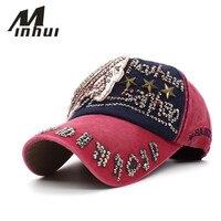 Minhui Good Quality Brand Golf Cap For Women Gorras Snapback Caps Baseball Caps Casquette Hat Sports