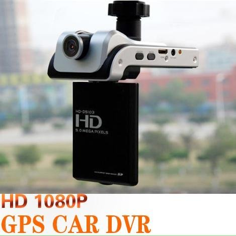 Full 1080P HD GPS Car Dashboard Dash Camera DVR Cam Black Box