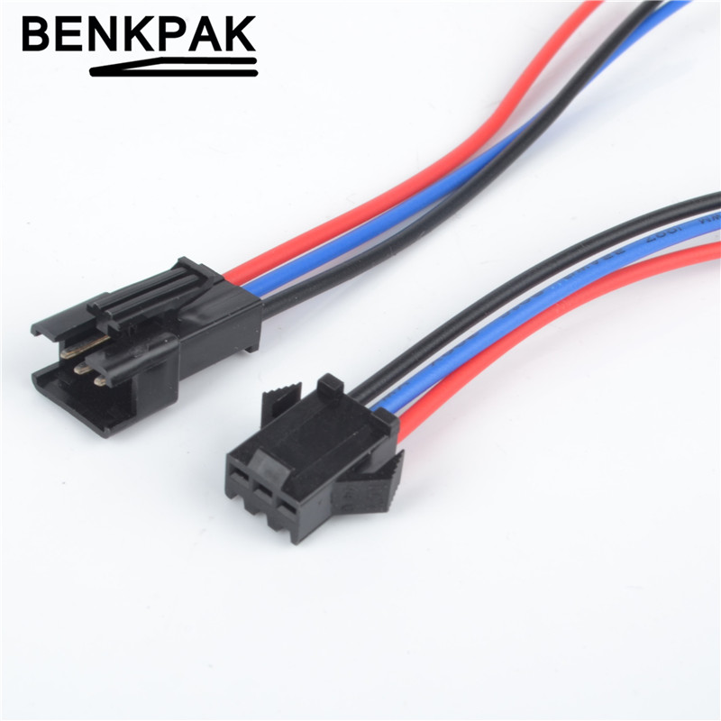 one Male Connector With Two Female Connectors Lighting Accessories Connectors Punctual 1pcs El Wire Connectors