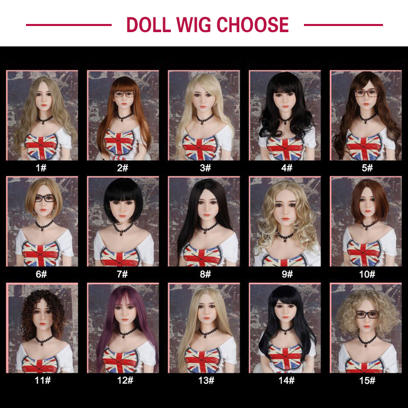WM <font><b>Doll</b></font> Wig for <font><b>sex</b></font> <font><b>doll</b></font>, hair for silicone <font><b>sex</b></font> <font><b>dolls</b></font>, fit for 125cm, 135cm 140cm 145cm <font><b>153cm</b></font> 155cm 161cm 163cm 165cm love <font><b>doll</b></font> image