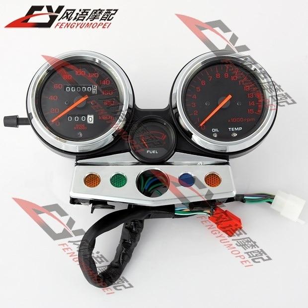 For Honda CB400 1995-1996-1997-1998 Motorcycle Red Speedometer Tachometer speedo clock instrument assembly gauge accessories