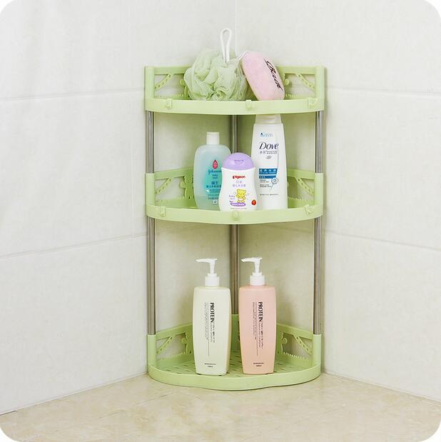 bathroom organizer plastic triangle corner shelf kitchen storage rh aliexpress com corner bathroom vanity organizer bathroom corner countertop organizer