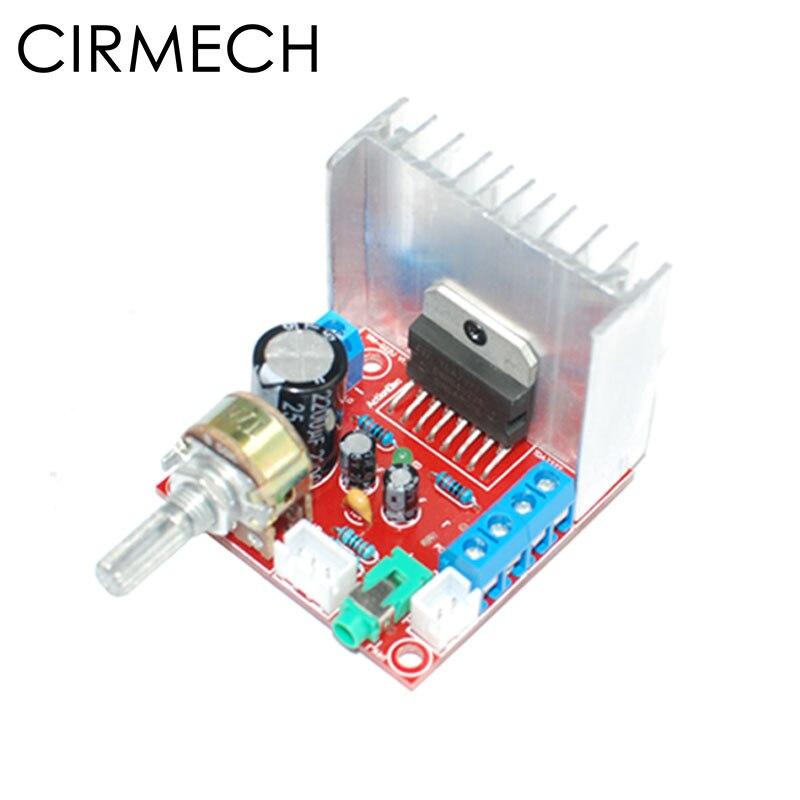 CIRMECH TDA7377 amplifier DIY kit 2.0 stereo power amplifier board 2channel sound amplifier TDA7377 DIY suite