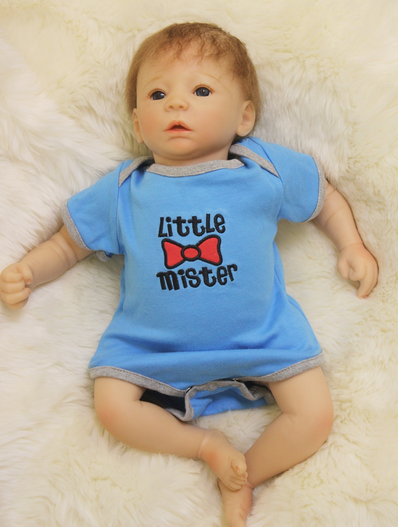 20 Quot Silicone Reborn Baby Dolls Soft Cloth Body Magnetic