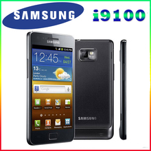 "Original Unlocked Samsung GALAXY S2 I9100 Mobile Phone Android Wi-Fi GPS 8.0MP camera Core 4.3"" 1GB RAM 16G Rom Free Shipping"
