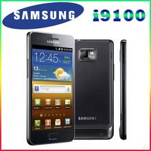 """Оригинальный Разблокирована Samsung GALAXY S2 I9100 Мобильный Телефон Android Wi-Fi GPS 8.0MP камера Ядро 4.3 """"1 ГБ RAM 16 Г Rom Бесплатно доставка"""