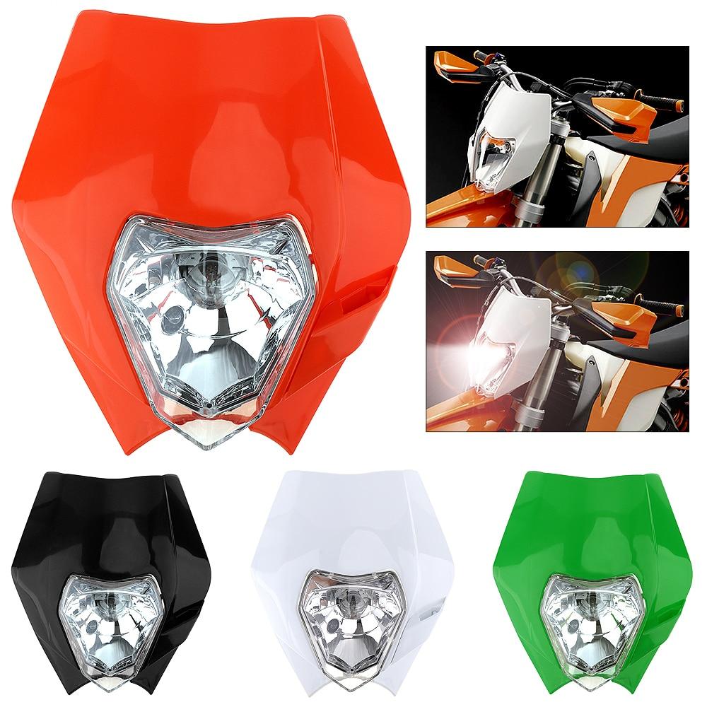 12В 35ВТ Общие внедорожных мотоциклов передняя фара для мотоцикла Honda CRF150 / CRF230 / CRF50 / CRF250 / CRF450