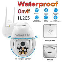 1080P PTZ IP Camera Outdoor Waterproof Rotation Speed Dome Wireless Wifi Security Camera IR Network CCTV Surveillance Camera