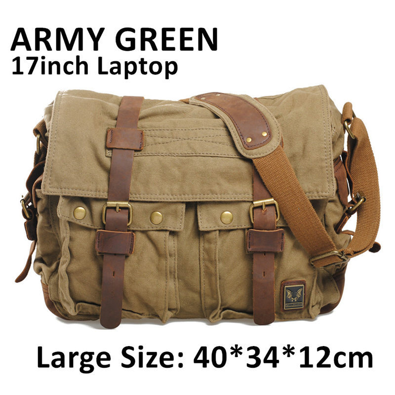 8aafbb19f53 HOT Canvas crossbody bag men,I AM LEGEND Will Smith military army vintage  Canvas messenger bags laptop canvas satchel mens bag-in Men s Costumes from  ...
