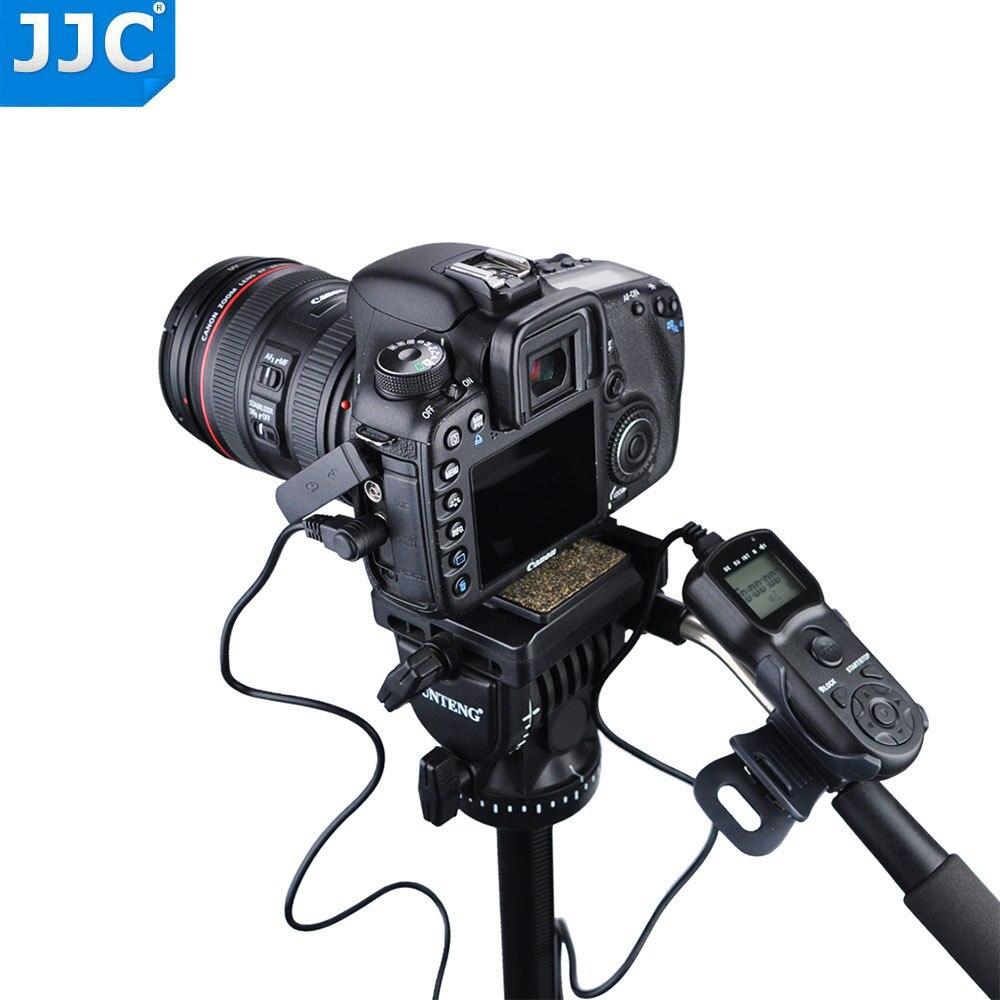JJC Multi-Fonction Déclencheur Câble Cordon Filaire Minuterie Télécommande pour Fujifilm X-A5/X-H1/X100T/X-Pro2/X-T10/X-T2/X-T1