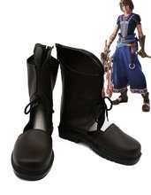 Final Fantasy XIII FF13-2 Noel Cosplay Shoes Boots Custom Made