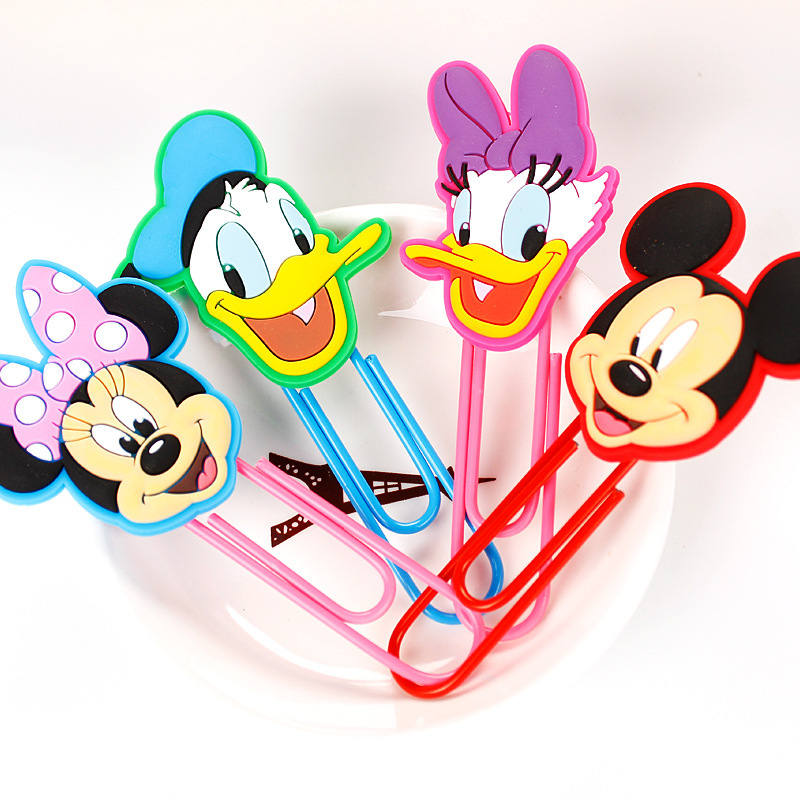10CM Cartoon Anime Bookmark Cute Kawaii Book Markers Paper Clip For Kids Gift  Stationery Student