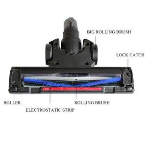 Image 3 - 32mm ar driven turbo cabeça da escova de chão ferramenta para philips electrolux vax miele henry aspirador de pó cabeça substituição peças