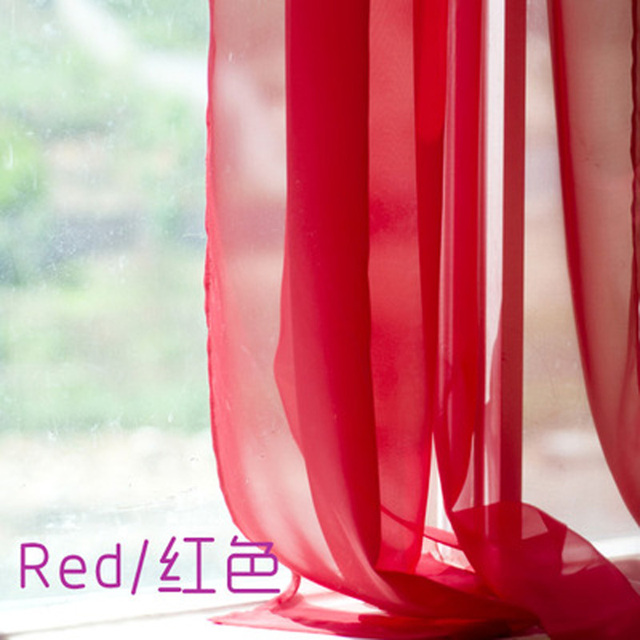 European and American Style Tulle Curtains 5
