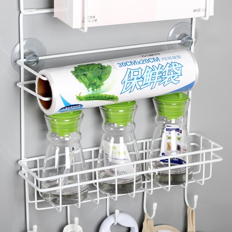 Refrigerador rack 4 unids ventosa gancho estante multifunción - Organización y almacenamiento en la casa - foto 5