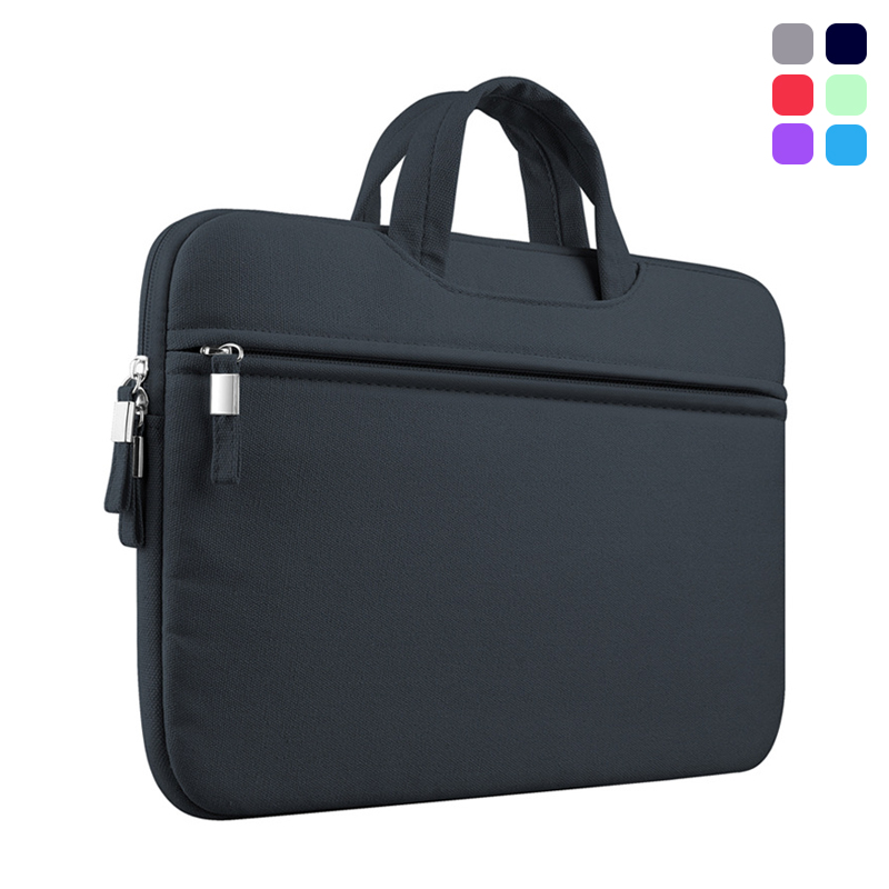 New High Quality Portable Soft Sleeve Laptop Bags Zipper Notebook Case Pouch Cover for Macbook Air Pro Retina 11 12 13 15 Inch