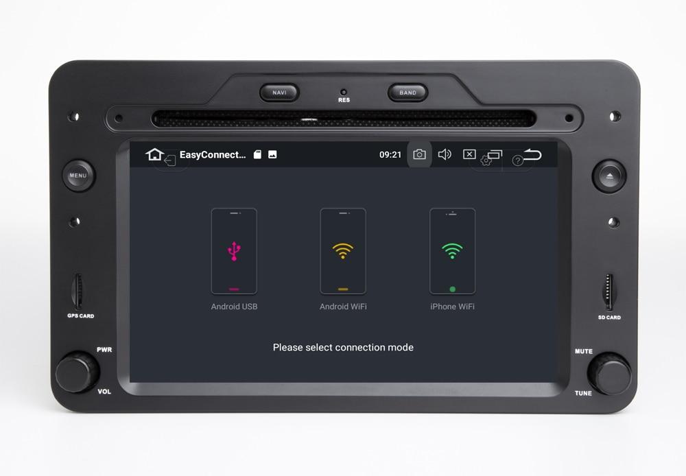 Octa core Android 10.0 Car DVD Player GPS Per Alfa Romeo Spider Alfa Romeo 159 Brera 159 Sportwagon 4GB + 64GB Wifi Radio BT DAB + - 3