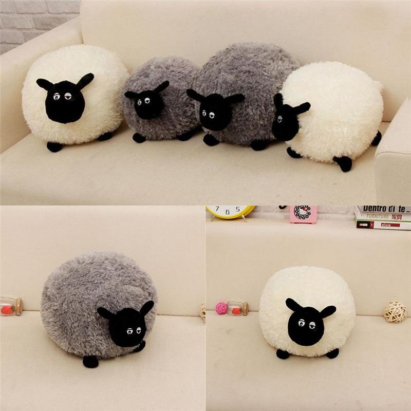 18 Doll Sofa Diy Simmons Memory Foam Reviews Cartoon Sheep Lamb Plush Toys Children's Baby ...