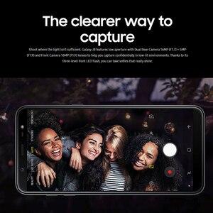 Image 4 - 100% חדש Samsung Galaxy J8 J810F DS נייד טלפון 6.0 אינץ 4GB RAM 64GB ROM אוקטה Core כפול אחורי מצלמה אנדרואיד טביעת אצבע טלפון