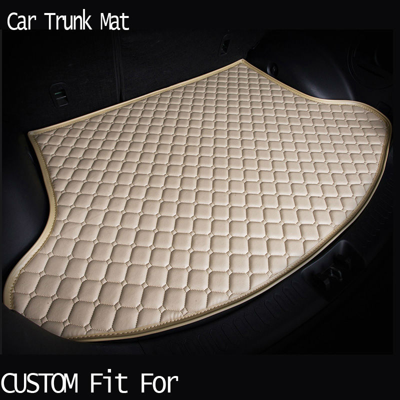 free shipping Custom fit car trunk mat for Infiniti EX25 FX35/45/50 G35/37 Q70L QX80 3D carpet cargo liner travel non-slip custom fit car trunk mat for nissan altima rouge x trail murano sylphy versa tiida 3d car styling tray carpet cargo liner