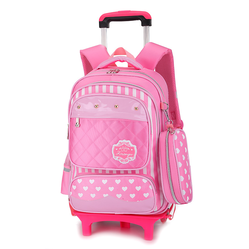 Latest Removable Children School Bags With 3 Wheels Stairs Kids boys girls Trolley Schoolbag Luggage Book Bags Wheeled BackpackLatest Removable Children School Bags With 3 Wheels Stairs Kids boys girls Trolley Schoolbag Luggage Book Bags Wheeled Backpack