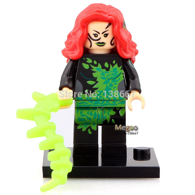 50pcs lot Xinh252 Poison Ivy Suicide Squad Two Face Super Hero Best Toys In stock X0113