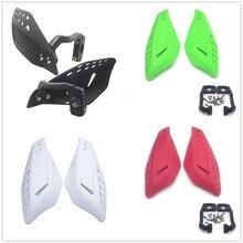 Protectores de mano universales para motocicleta de 7 colores protectores de manos 7/8 ''22mm ATV moto de cross empuñadura para motocicleta protectores de protección