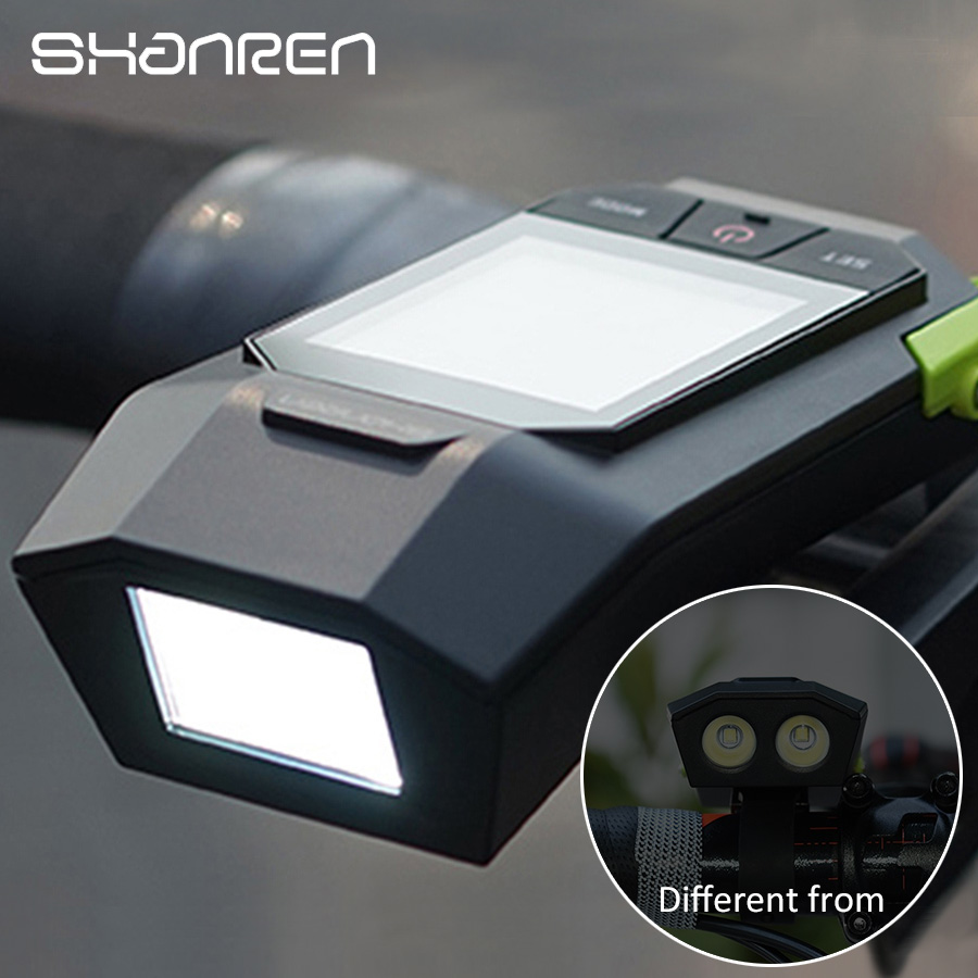 German optical certificat Bike light upgrade shanren Raptor II bike computer wireless gps bicycle speedometer stopwatch стоимость
