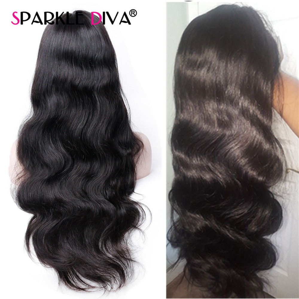 13 4 Lace Front Wigs 150 Brazilian Body Wave Human Hair Lace Front Wigs For Black