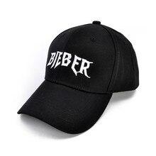 Justin Bieber favorito béisbol del algodón del verano hombres mujeres Hiphop  ajustable gorras deportivas 828cd19e788