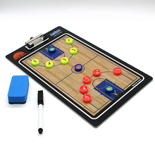 Straight Tactical Basketball Coach Board Magnetic Coaching Tactic Basket Ball Game Basketbal Basketbol Strategy
