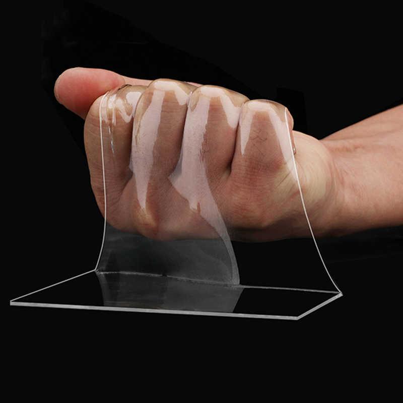 ONEUP wielofunkcyjny dwustronny klej Nano taśma bez podszewki nadające się do prania zdejmowane taśmy szczoteczka do zębów uchwyt łazienka akcesoria