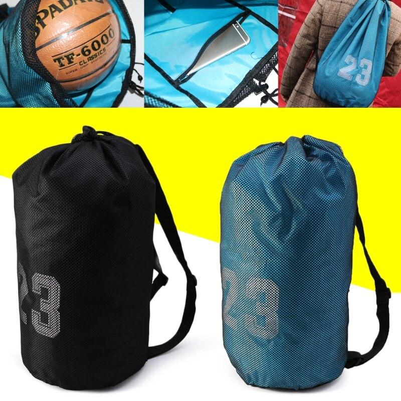 Basketball Bags For Balls Soccer Drawstring Fitness Outdoor Basketball Backpack