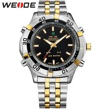 Weide del Relogio Masculino hombres del reloj del deporte marcas de lujo del cuarzo moda Casual militar Digital resistente al agua costosos relojes WH905 relojes hombre marca famosa lujo Relojes de pulsera
