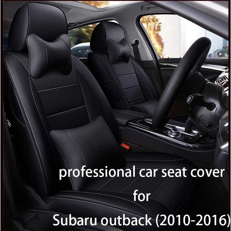 Legua Car Seat Cover Set Luxury Leather For Subaru Outback 2010 2016 Water