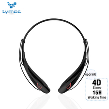 Lymoc Upgrade Y98 4D Stereo Bluetooth Headset Neckband Wireless Earphones V4.2 Sport Headphone 15Hrs