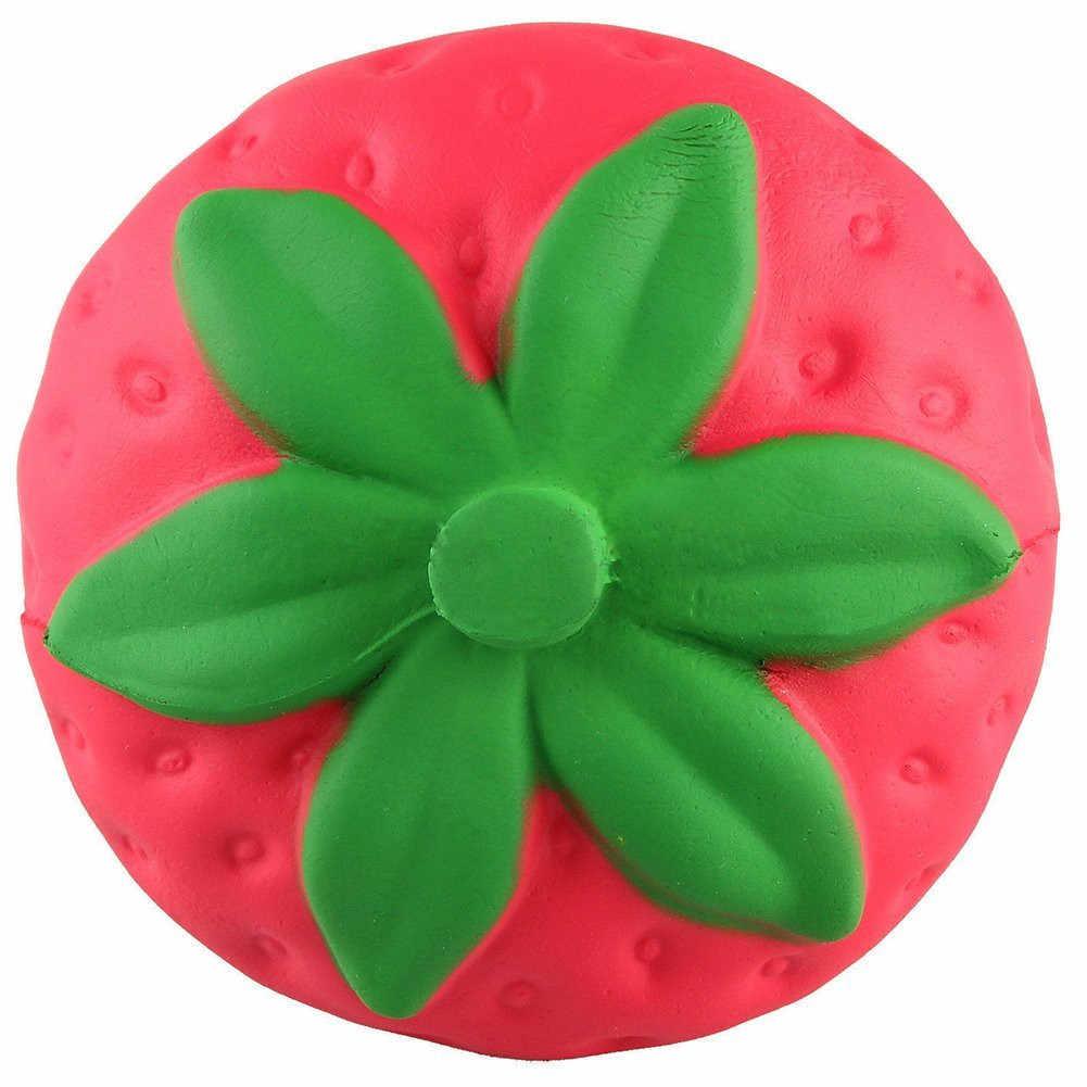 Licin Mainan Buah Jumbo Cream Beraroma Strawberry Lambat Rising Antistress Mainan Pendidikan & Belajar Mainan 28S881 Grosir