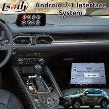 Android 7,1 видео интеграционный интерфейс для Mazda CX-5 Поддержка приложения/MCU онлайн-обновление, автомобильный gps-навигатор коробка