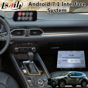 Lsailt Video-Interface Android Navigation Auto-Adas Wireless-Carplay for Mazda CX-5