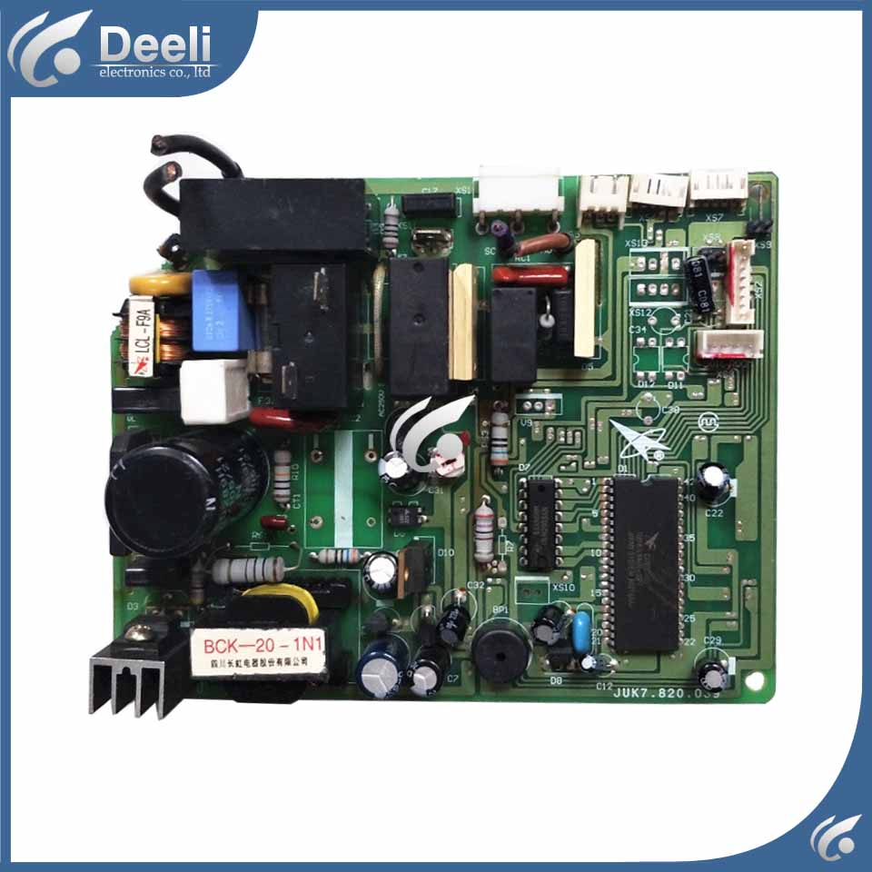 95% new good working for air conditioning computer board KFR-35GW/EQ board JUK7.820.039 on sale indoor air conditioning parts mpu kfr 35gw dy t1 computer board kfr 35gw dy t used disassemble