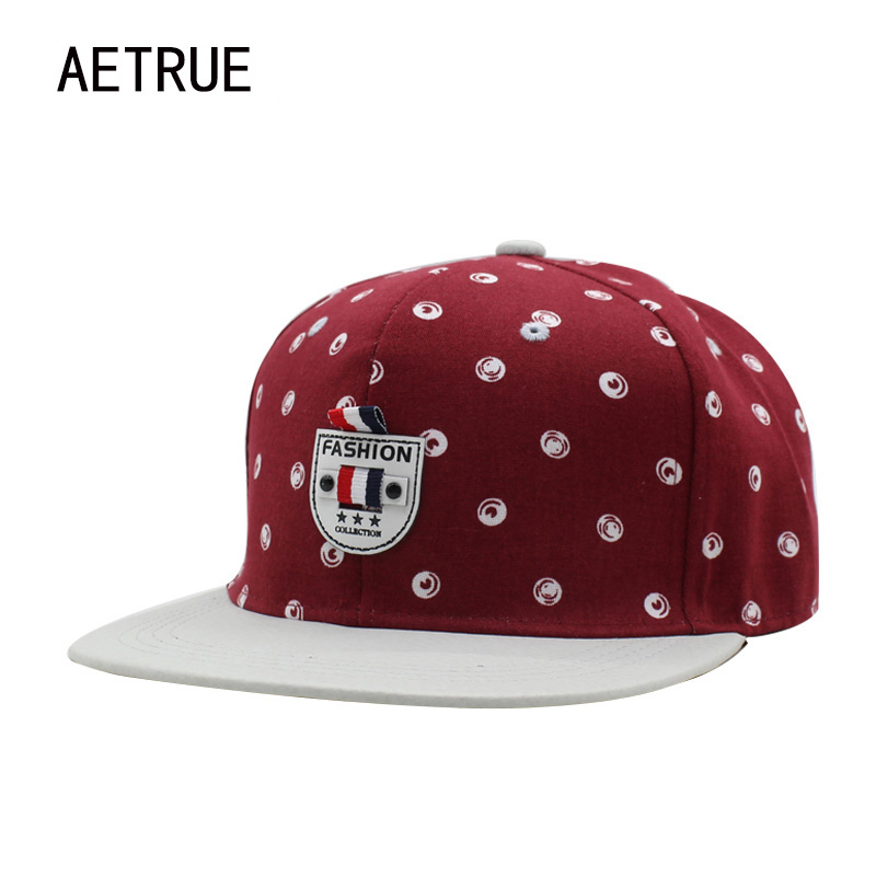 AETRUE Brand Hip Hop Women Snapback Caps Men Baseball Cap Bone Hats For Men Casquette Su ...