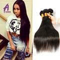 5 Bundles Of Virgin Brazilian Hair Wholesell Brazilian Straight Hair Queen Hair Products Cheap Human Hair Extension NaturalBlack