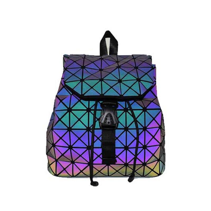 Pour Ohmnix Pliable Dos Lumineux Adolescente Étudiant Sacs D'écolier Laser À a2 A1 Géométrique Femmes Hologramme Mini Sac r4w1q7Tr