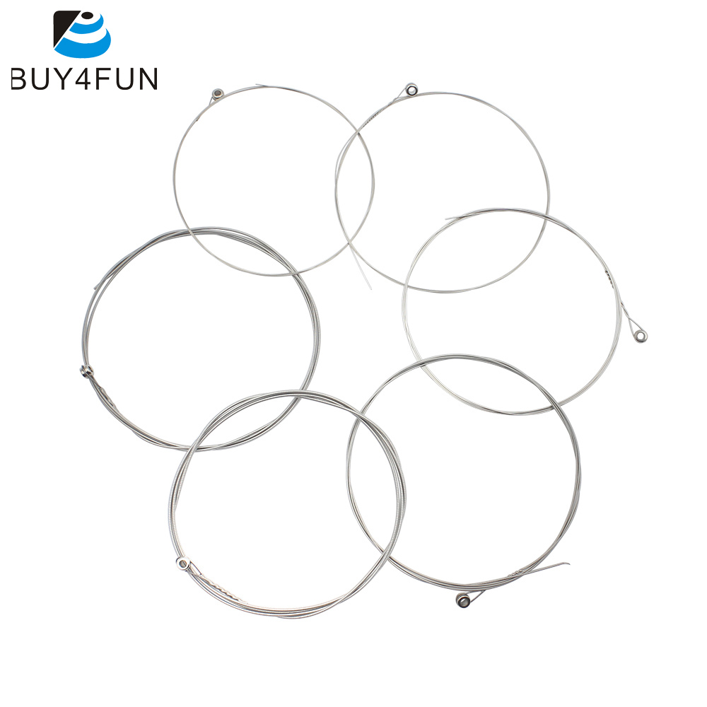 6pcs pack electric guitar strings steel core nickel alloy wound 1st 6th 009 042 guitar. Black Bedroom Furniture Sets. Home Design Ideas