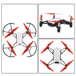 Image 5 - Mini Drone Propeller Blades + Battery Buckle Clip Holder + Propeller Protective Guards for DJI Tello FPV Drone Accessories