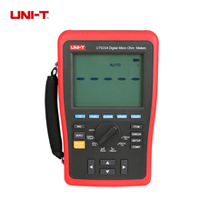 цена на UNI-T UT620A High-Accuracy 0.25% Kelvin Four-wire Low Resistance & Wire Length Tester Micro Ohm Meter USB UT-620A