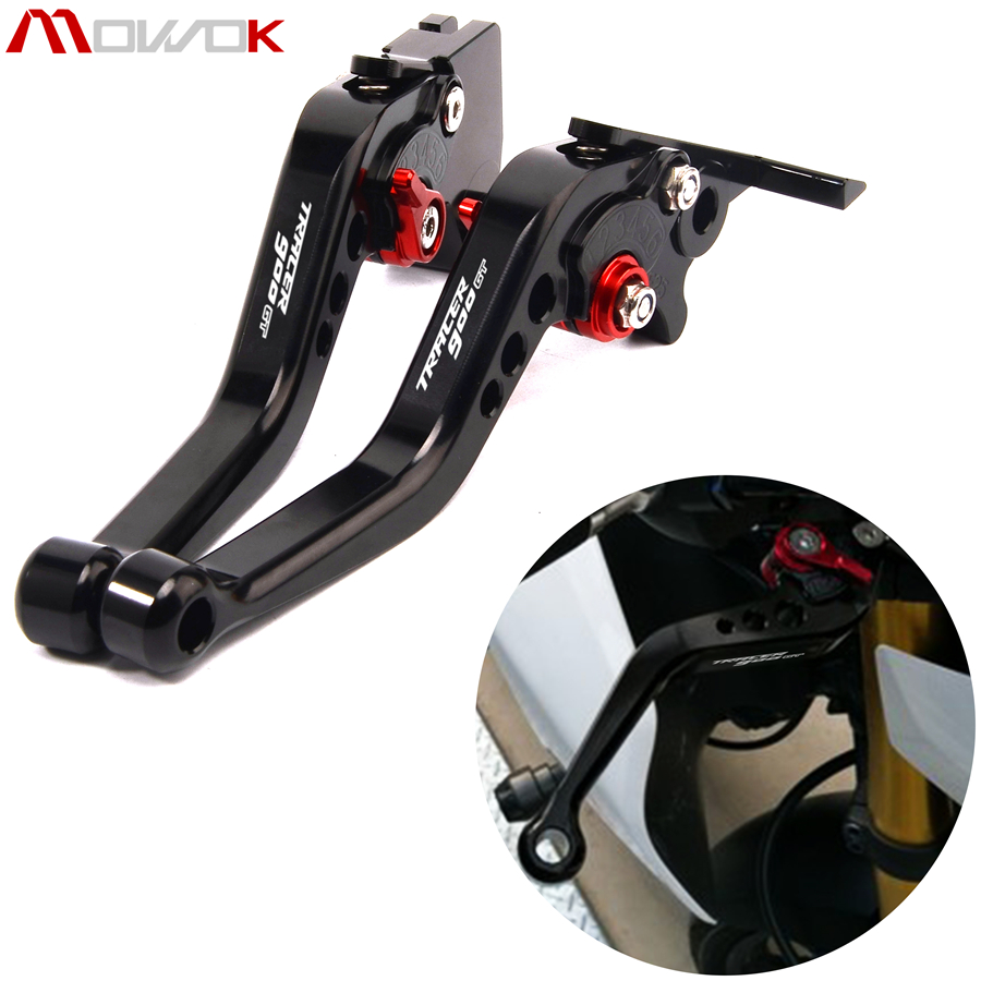 For Yamaha TRACER 900 GT TRACER 900/GT 2018-2019 Logo TRACER900GT Motorcycle Accessories Parts CNC Brake Clutch Levers Set