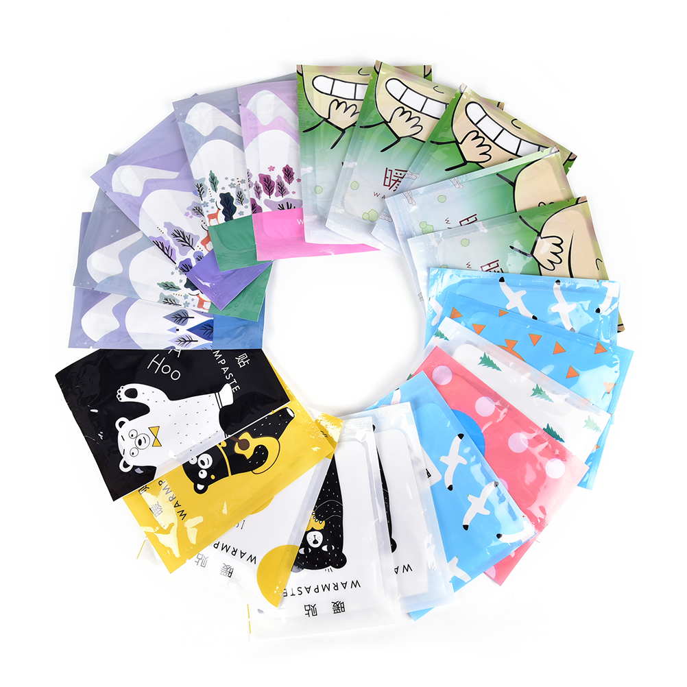 5pcs Reusable Winter Cartoon Instant Heating Gel Hand Warmer Pack Pad Handwarmer Liquid Cover Accessories