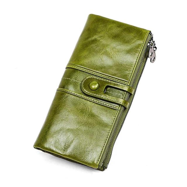 Retro Style Leather Wallet Mawgie